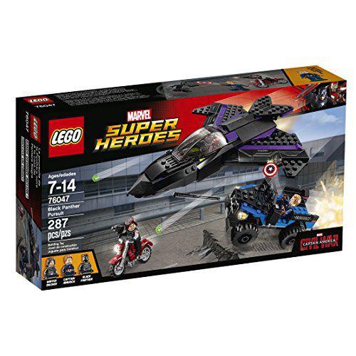 Lego Marvel Super Herdes - Perseguicao do Pantera Negra 7604