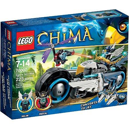 Lego Chima - A DUPLA MOTOCICLETA DE EGLOR 70007