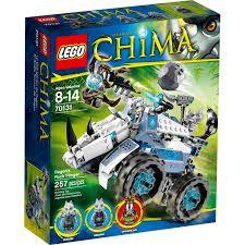 Lego Chima - ARREMESSADOR DE PEDRAS DE ROGON V29 EUR 70131