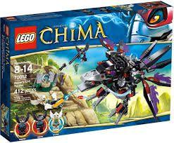 Lego Chima - CORVO MORDEDOR RAZAR 70012