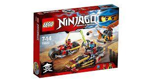 Lego Ninjago - PERSEGUICAO DE MOTOCICLETA NINJA 70600