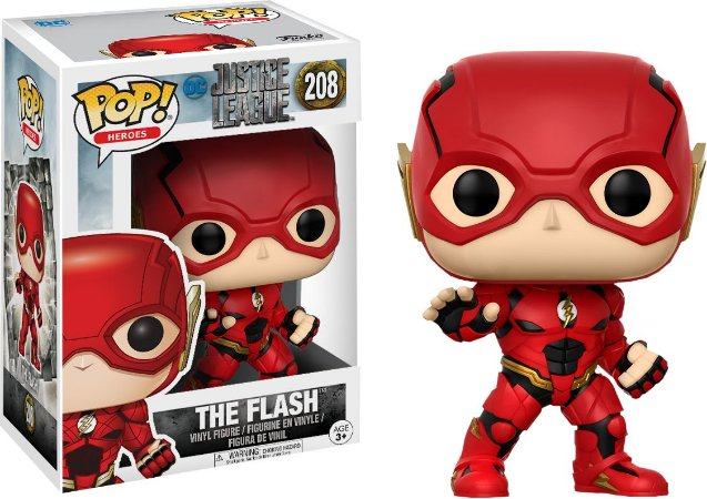 BONECO POP VINYL JL - THE FLASH