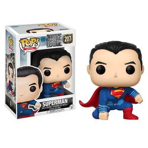 BONECO POP VINYL JL - SUPERMAN