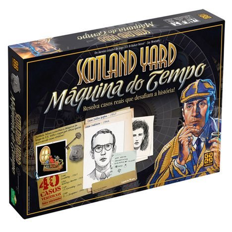 SCOTLAND YARD - MÁQUINA DO TEMPO