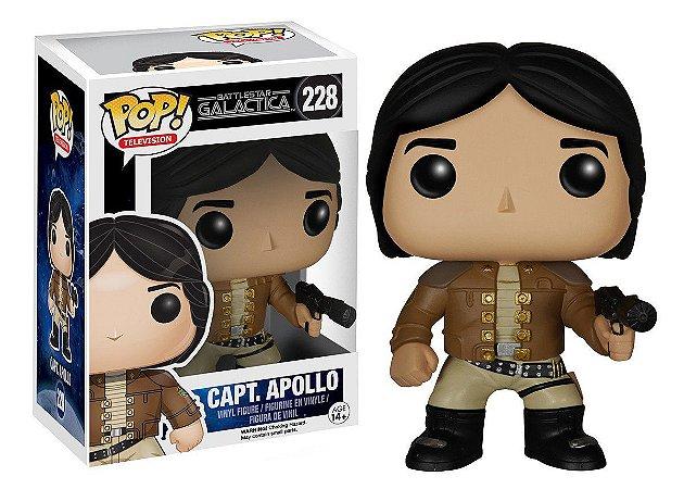 Boneco Funko - Battlestar Galactica - Capt. Apollo