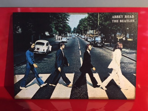 Quadro 30x20cm - The Beatles - Abbey Road