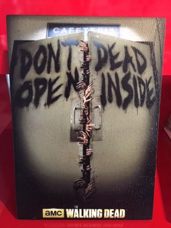 Quadro 30x20cm - The Walking Dead - Don´t dead open inside