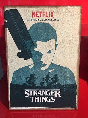 Quadro 30x20cm - Stranger Things - Eleven