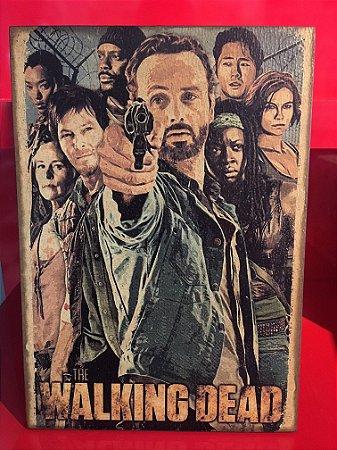 Quadro 30x20cm -The Walking Dead