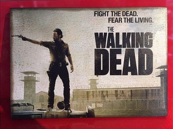 Quadro 30x20cm - The Walking Dead -  Fear the living