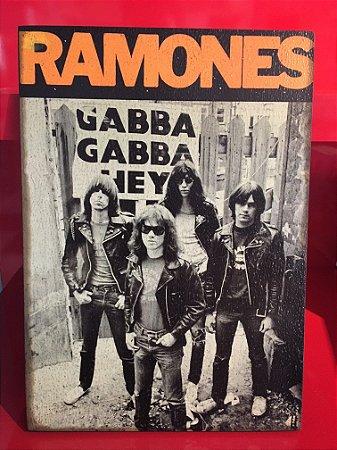 Quadro 30x20cm - Ramones