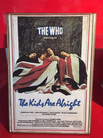 Quadro 30x20cm - The Who