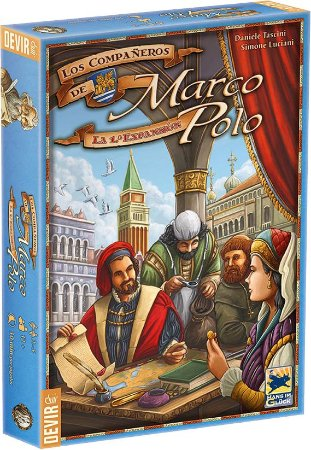 COMPANHEIROS DE MARCO POLO EXPANSAO