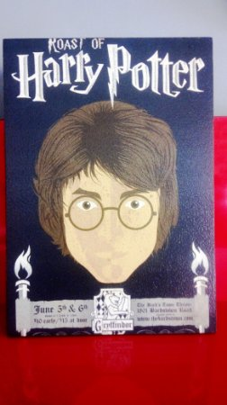 Quadro 30x20cm Harry Potter