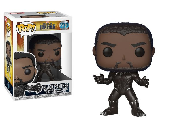 FUNKO -  POP VINYL - BLACK PANTHER