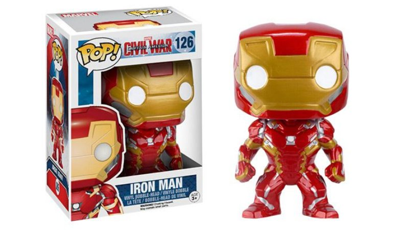 FUNKO -  POP VINYL - IRON MAN