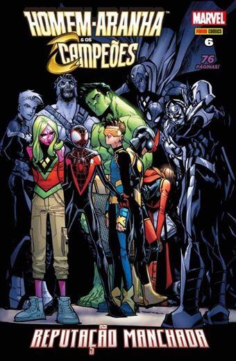 Homem-Aranha & os Campeões - Edição 6