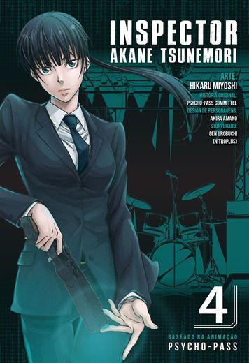 Psycho - Pass - Edição 4 Inspector Akane Tsunemori