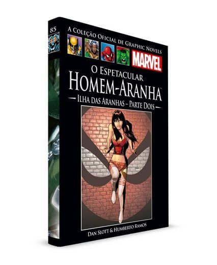 Livro Graphic Novels Marvel Ed. 125