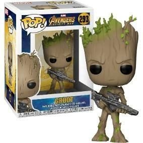 Infinity War Groot with Blaster - POP Vinyl