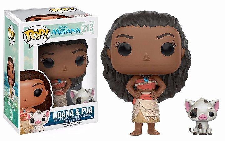 Moana & Pua - POP Vinyl