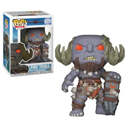 God of War Brenna Daudi - POP Vinyl