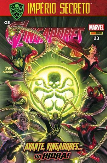 Os Vingadores - Edição 23 Avante, vingadores... da Hidra