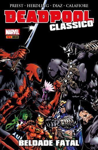 Deadpool Clássico - Edição 9 Beldade Fatal