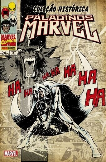 Coleção Histórica Marvel: Paladinos Marvel - Volume 8