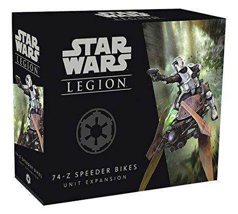 Wave 0 - Speeder Bikes 74-Z - Expansao de Unidade, Star Wars Legion