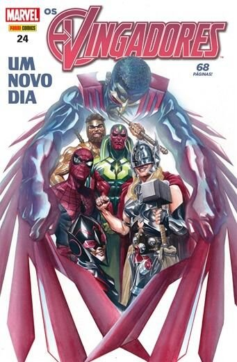 Os Vingadores - Edição 24 Um novo dia