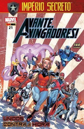 Avante Vingadores - Edição 21 Unidos Contra a Hidra