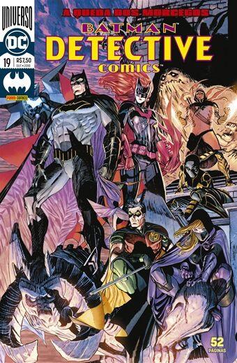 Detective Comics: Universo DC - Edição 19 A queda dos morcegos