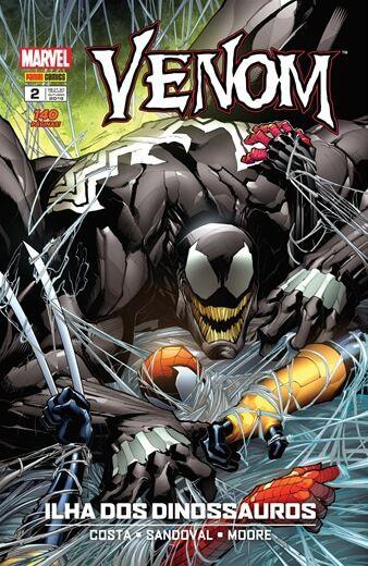 Venom - Edição 2 Ilha dos Dinossauros