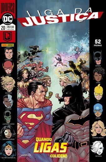 Liga da Justiça: Universo DC - Edição 20 Quando ligas colidem!
