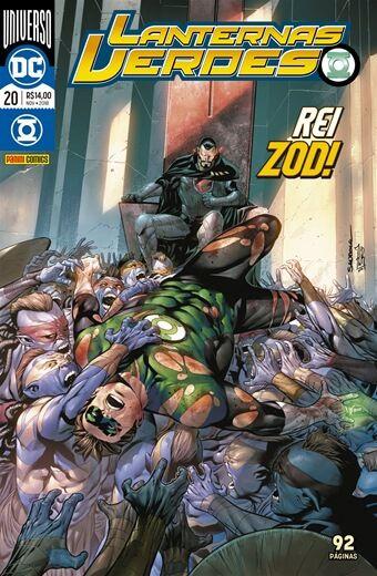 Lanternas Verde: Universo DC - Edição 20 Rei Zod