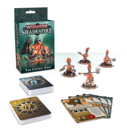 WH UNDERWORLDS: THE CHOSEN AXES expansão Shadespire