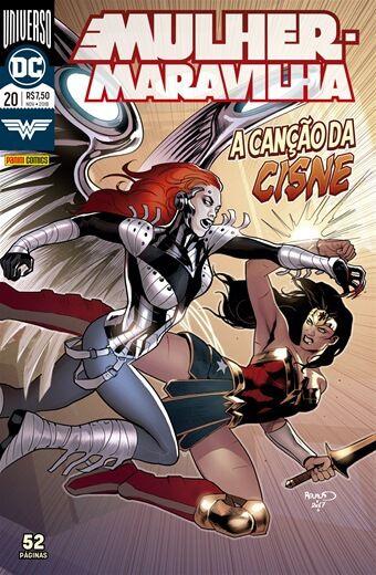 Mulher Maravilha: Universo DC - Edição 20 A canção do Cisne