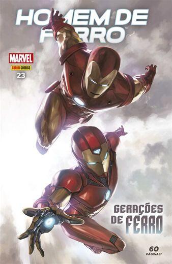 Homem de Ferro - Edição 23 Gerações de ferro