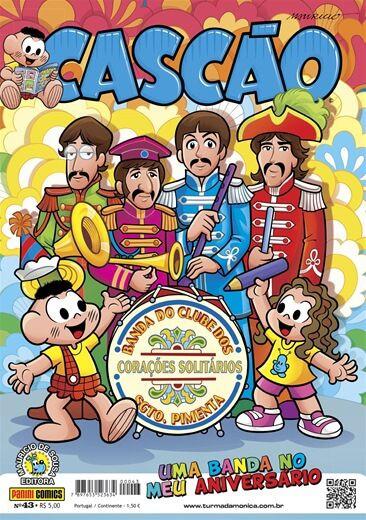 Gibi do Cascão - Edição 43 Uma banda no meu aniversário
