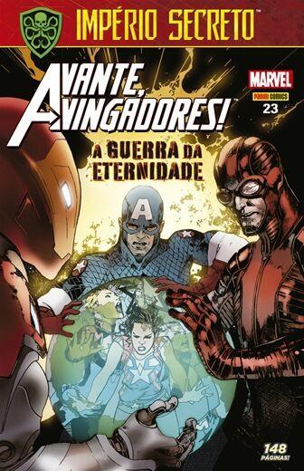 Avante Vingadores - Edição 23 A guerra da eternidade