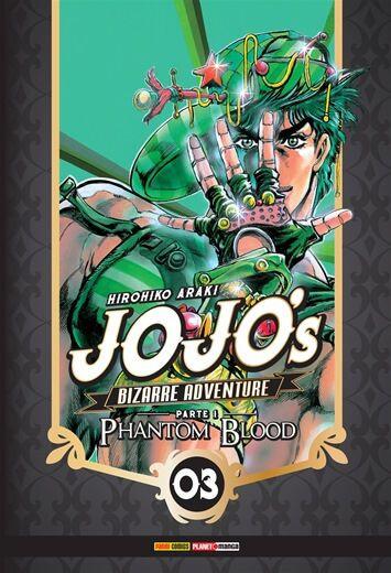 Jojo's: Bizarre Adventure - Edição 3 Phantom Blood