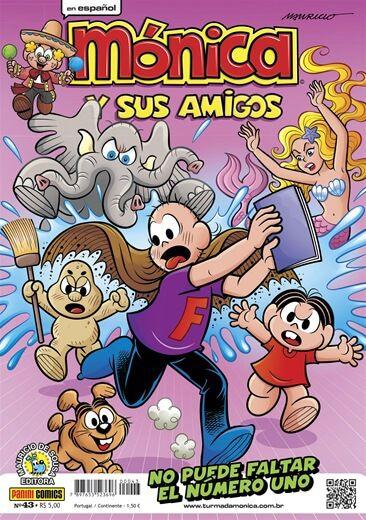 Mónica y sus amigos - Edição 43 No puede faltar el número uno