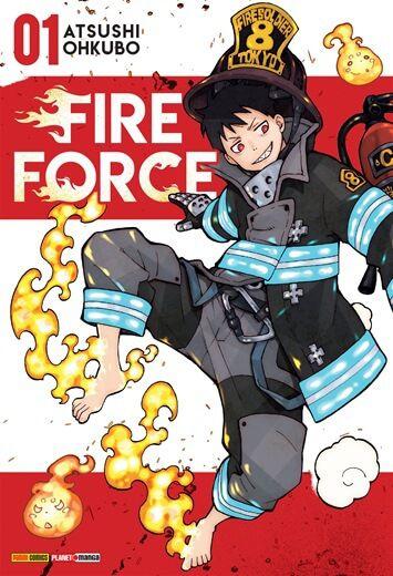 Fire Force - Edição 1