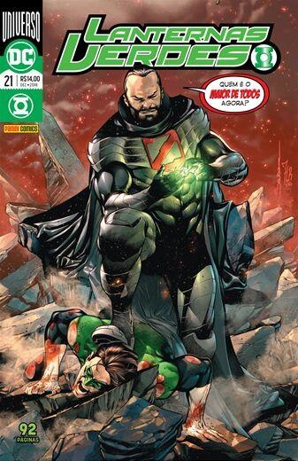 Lanternas Verdes: Universo DC - Edição 21 Quem é o maior de todos agora?