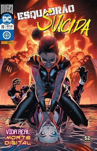 Esquadrão Suicida: Universo DC - Edição 19 Vida real: morte digital