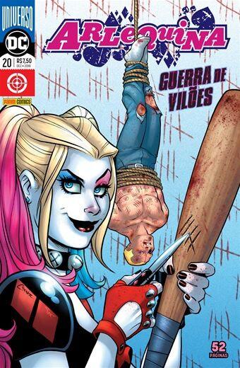 Arlequina: Universo DC - Edição 20 Guerra de Vilões