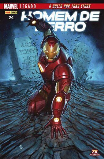 Homem de Ferro - Edição 24 Marvel Legado: A busca por Tony Stark