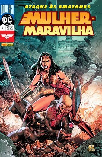Mulher-Maravilha: Universo DC - Edição 21 Ataque às Amazonas