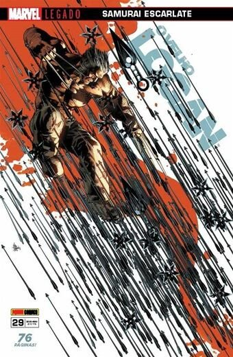 O Velho Logan - Edição 29 Marvel Legado: Samurai Escarlate